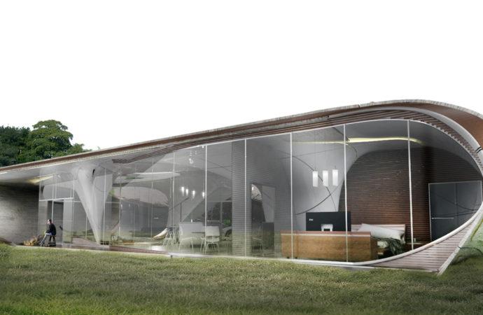 ¿Cómo serán las casas hechas con impresoras 3D?